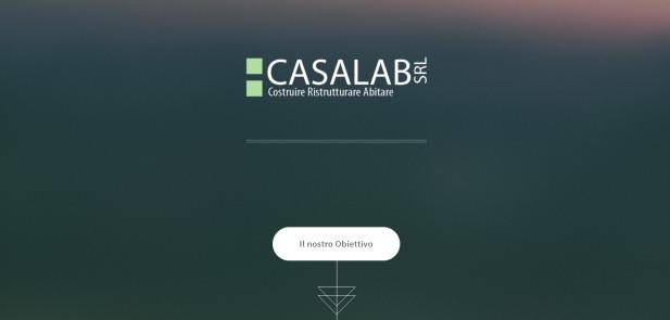 """Casalab Srl - realizzazione sito web """"work in progress"""""""
